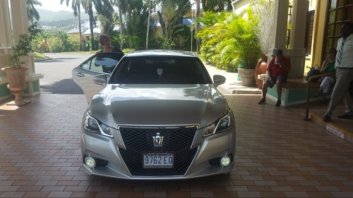 Luxury airport transfer in Montego Bay Jamaica