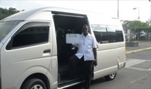 Negril transfer from Montego bay airport  in our vehicle that seats 15 persons