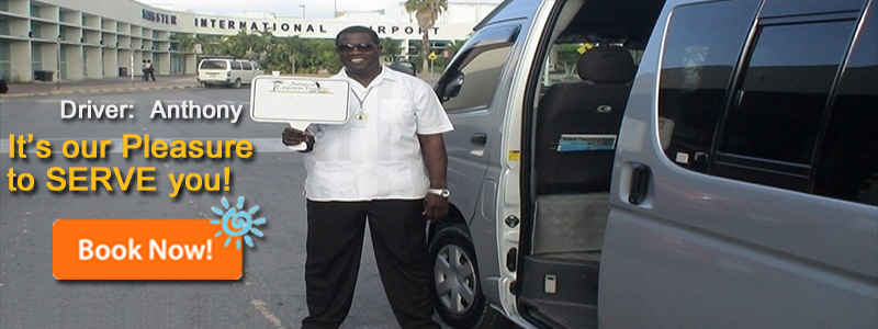 Montego Bay airport private transfers, to Montego Bay, Kingston, Ocho Rios, Negril, Runaway Bay, Rose Hall and White House, email info@jamaicaexquisitetours.com website www.jamaicaexquisitetours.com