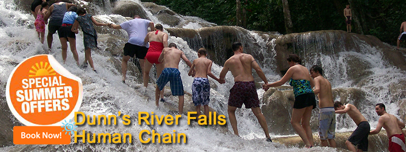 Dunn'River Falls tour From Montego Bay, Negril, Falmouth and Runaway Bay