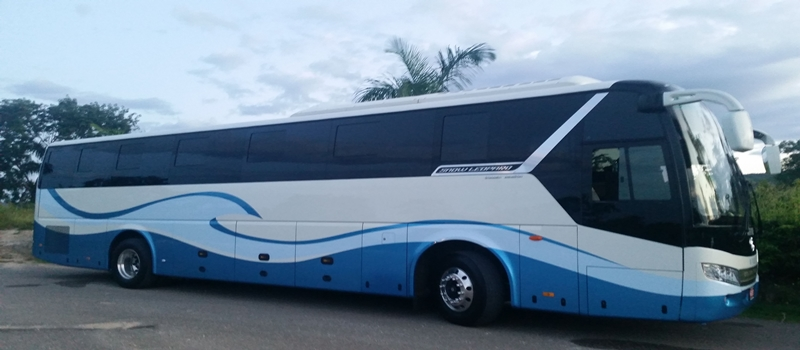 Jamaica Eexquisite Transfer and Tours luxury coach