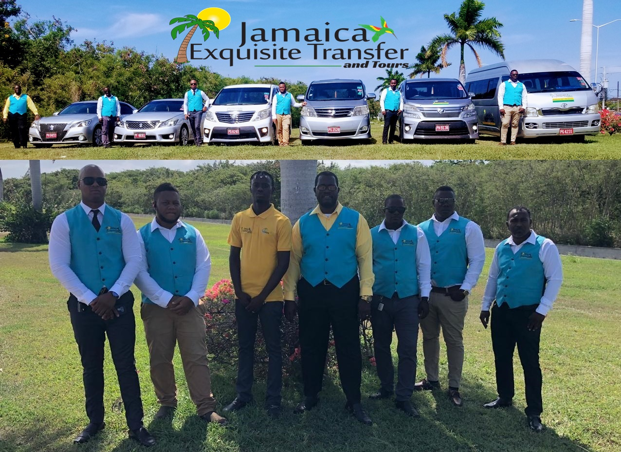 At Jamaica Exquisite Transfer And Tours LTD we offer our guest the best in customer service, the best drives/tour, clean and comfortable vehicles at the best price for your money.