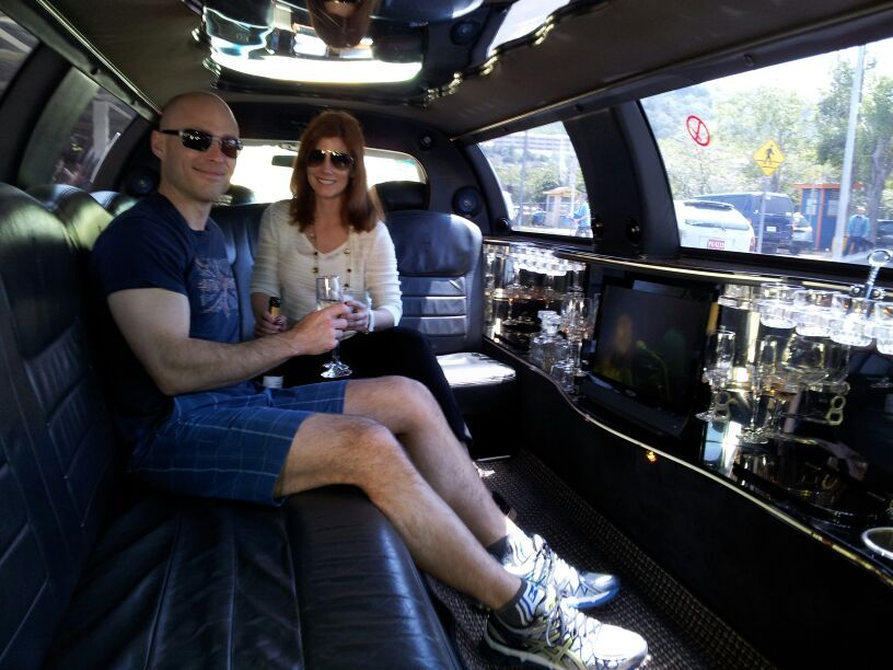 Jamaica Exquisite Transfer limo with champagne service