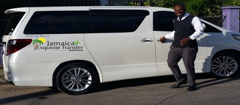 Jamaica Exquisite Transfer and Tours VIP Toyota Alphard service