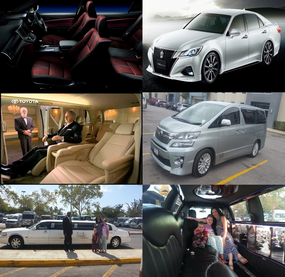 Jamaica and Montego Bay airport luxury VIP transfers
