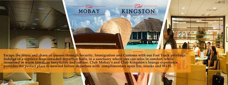 Club Mobay Arrival & Departure